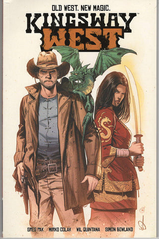 Kingsway West graphic novel - signed by Greg Pak!