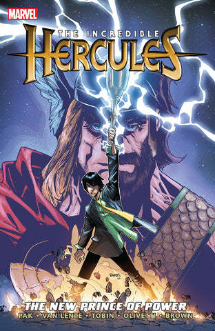 INCREDIBLE HERCULES: THE NEW PRINCE OF POWER paperback - signed by Greg Pak!