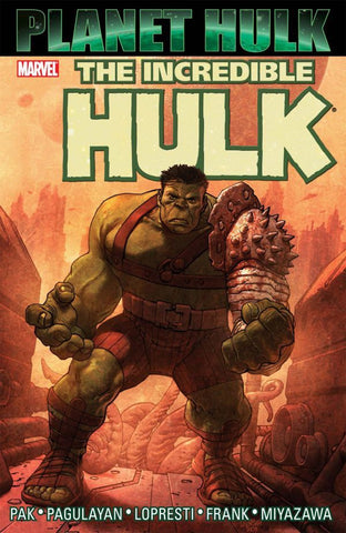 Planet Hulk paperback - signed by Greg Pak!