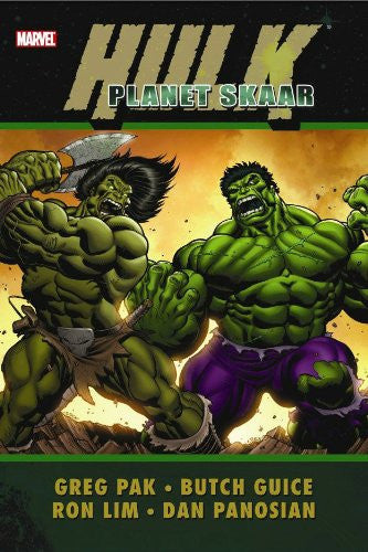 Hulk: Planet Skaar hardcover - signed by Greg Pak!