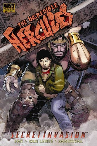 Incredible Hercules Secret Invasion graphic novel - signed by Greg Pak!