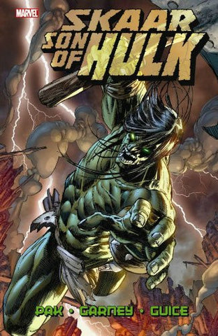 Skaar Son of Hulk, Vol. 1 Hardcover - signed by Greg Pak!