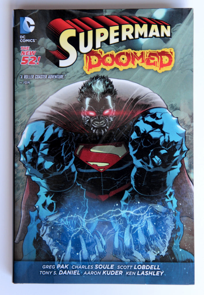 SUPERMAN: DOOMED hardcover, signed by Greg Pak!