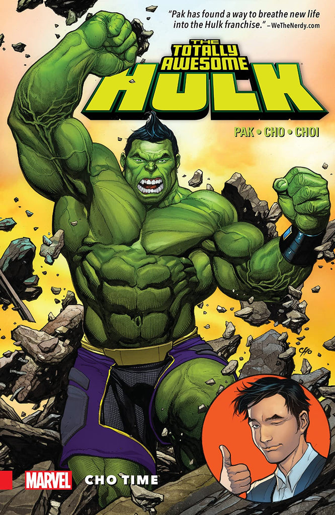TOTALLY AWESOME HULK: CHO TIME paperback - signed by Greg Pak!