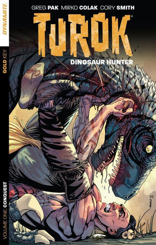 Turok: Dinosaur Hunter, Vol. 1 - signed by Greg Pak!