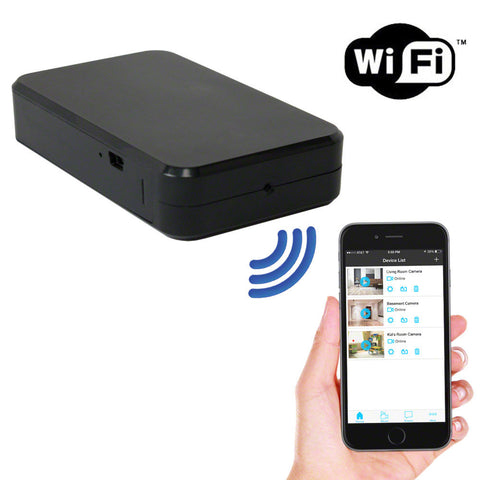WiFi P2P Black Box Spy Camera Hidden Cam 1080P HD Remove Access