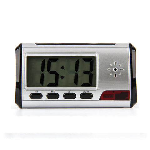 Spy Digital Alarm Clock Hidden Camera Motion Detection Cam DVR