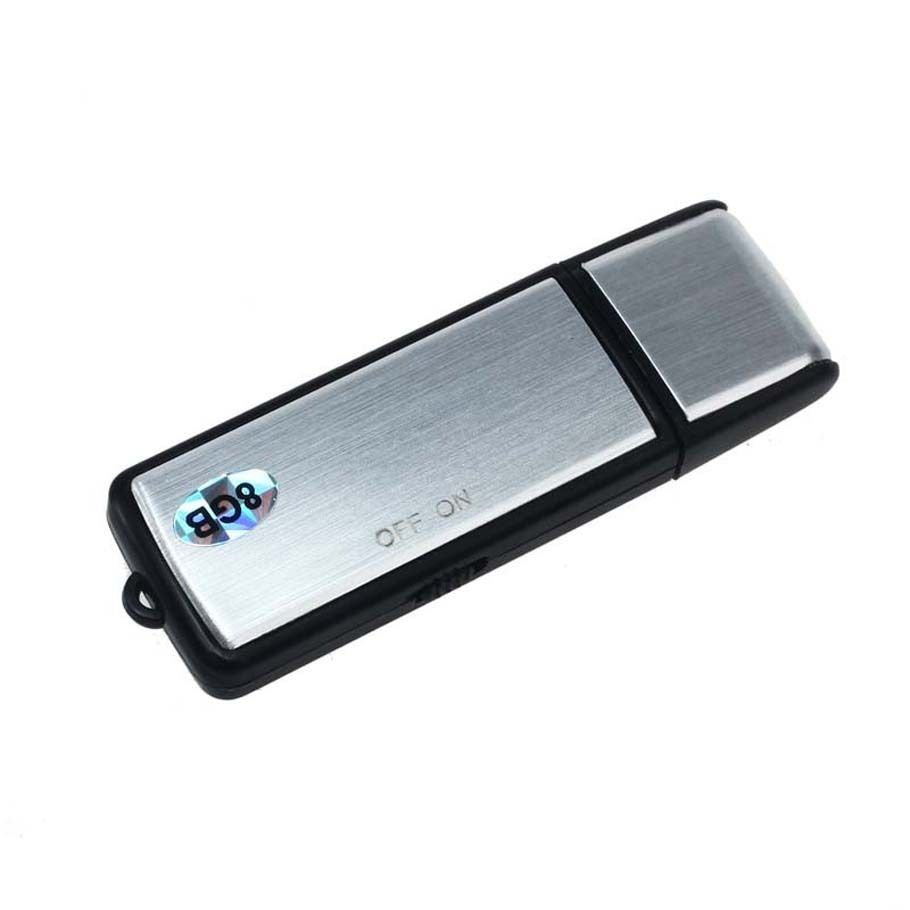 Spy USB Digital Audio Voice Recorder 8GB / 10-17 Hours Battery Life