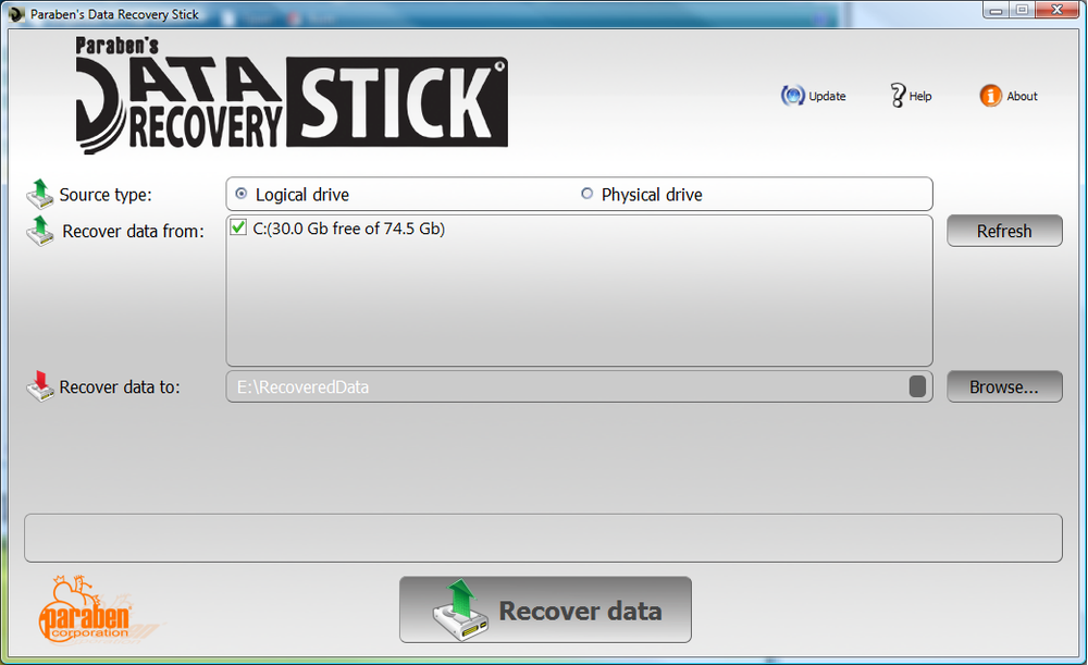 Spy Paraben Data Recovery Stick
