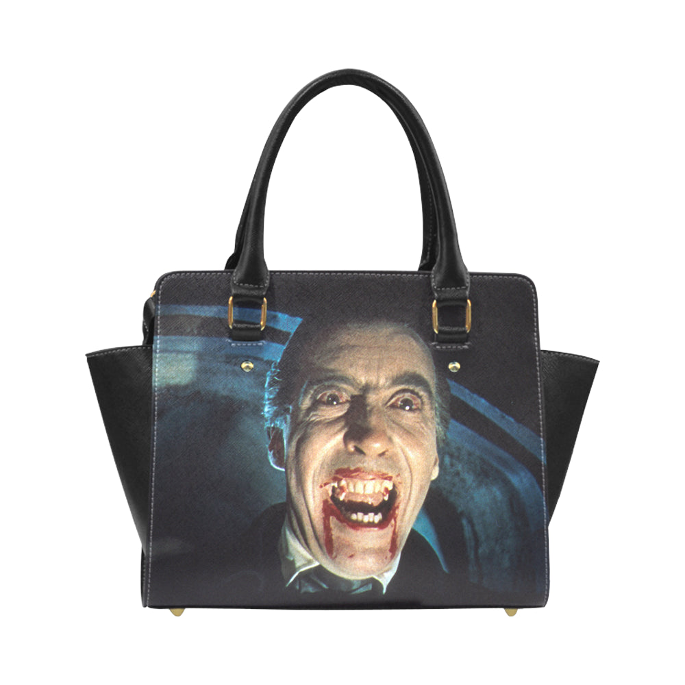 Dracula Leather Shoulder Bag