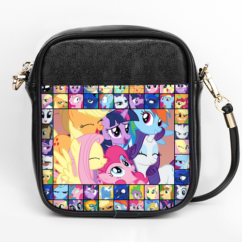 Friendship Ponies Crossbody