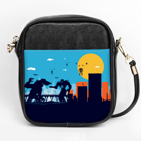 Pacific Monsters VS Robots Crossbody
