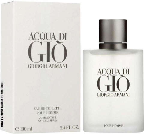 Acqua Di Gio by Giorgio Armani - Eau De Toilette 3.4 oz. Spray