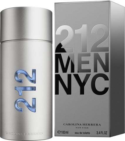 212 Men NYC by Carolina Herrera Eau De Toilette Spray Eau De Toilette Spray 3.4 oz