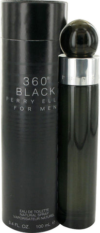 360° Black by Perry Ellis - Eau De Toilette 3.4 oz Spray