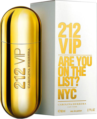 212 VIP by Carolina Herrera Eau De Parfum 2.7 oz. Spray