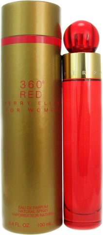 360° Red for women by Perry Ellis - Eau De Parfum 3.4 oz. Spray