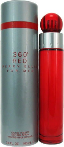 360° Red for men by Perry Ellis - Eau De Toilette 3.4 oz Spray