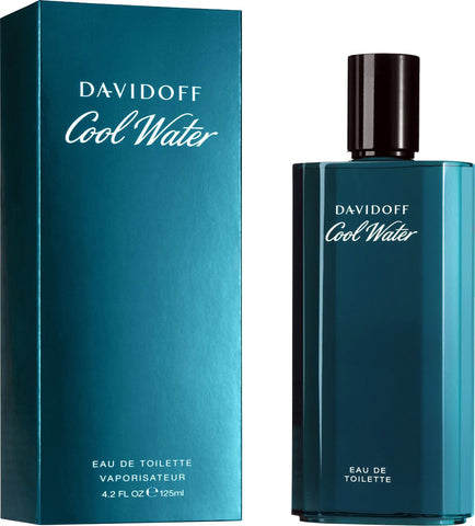 Cool Water by Davidoff - Eau De Toilette Spray 4.2 oz
