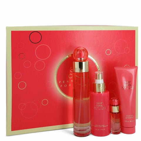 360 CORAL SET 4p 3.4oz W EDP SPY