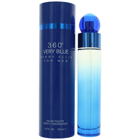 360 VERY BLUE 3.4oz M EDT SPRAY