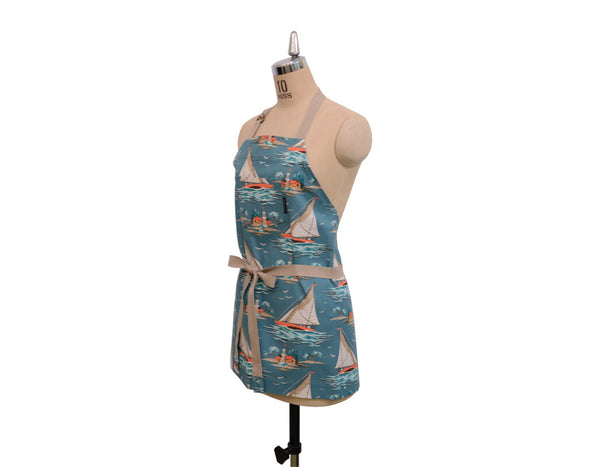 Yachting Top Pocket Apron - chopcookdine