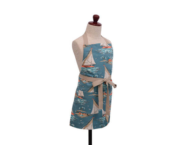 Yachting Kids Adjustable Wrap Apron - chopcookdine
