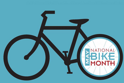 May is National Bike Month - here are 4 tips to get you (and the family) pedaling more!