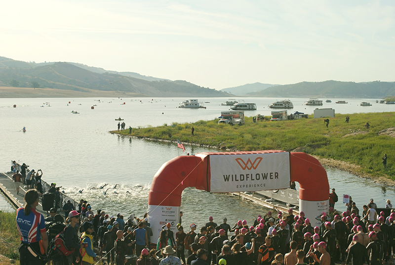 Wildflower Experience Triathlon Bradley, CA