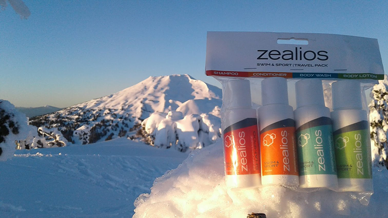 Zealios travel pack on top of Tumalo Mtn Bend, OR