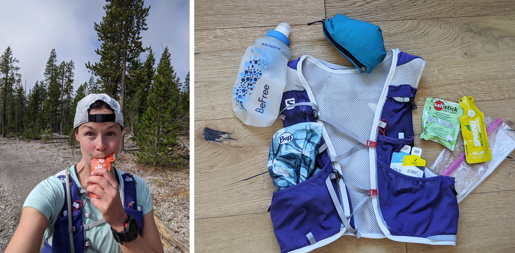 Brandy shares what's in her trail running vest