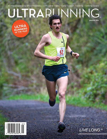 David Laney named Ultrarunning Magazine's Ultra Runner of the Year for 2015
