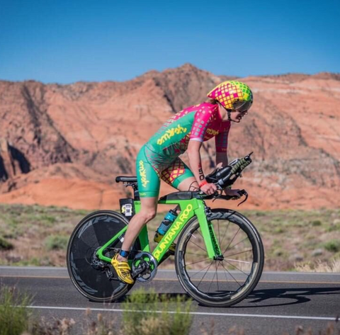 Pro triathlete Haley Chura photo credit: @justinluau