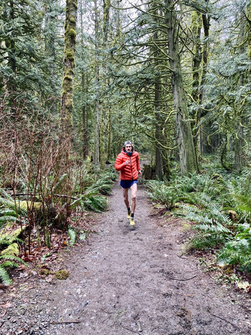 Running and motivation tips from pro trail runner David Laney