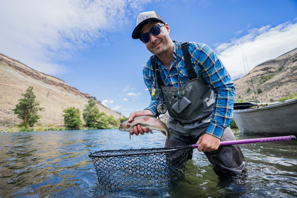 Austin shares his fly fishing secrets and supplies