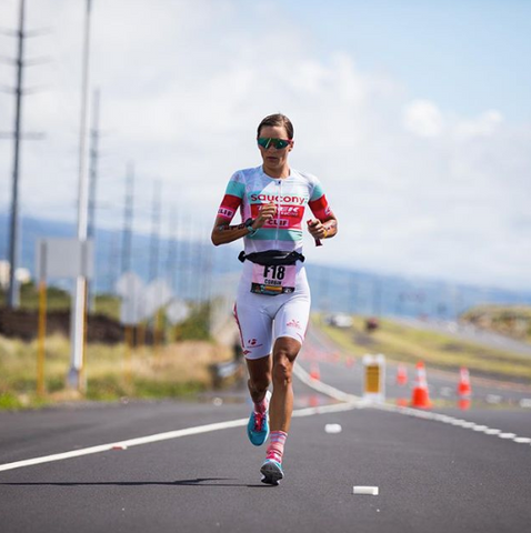 Linsey Corbin takes 10th at the 2018 Ironman Worlds Championships photo credit Talbot Cox