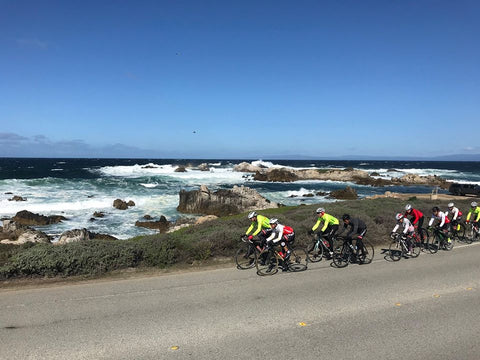 Pen Velo Cycling Club goes for a team ride on the coast