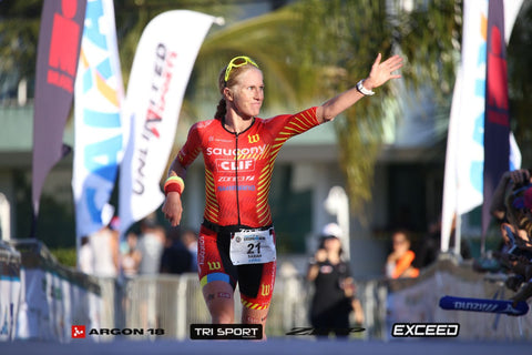 Sarah Piampiano wins at Ironman Peru
