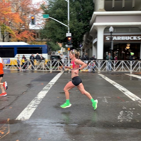 Haley Chura, pro triathlete takes on California International Marathon to qualify for the 2020 Olympic Trials