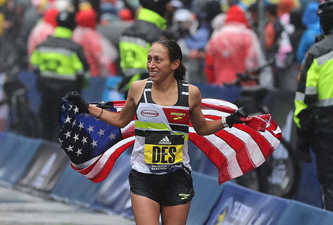 Desi Linden wins 2018 Boston Marathon