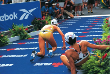 Ironman 1997 Finish