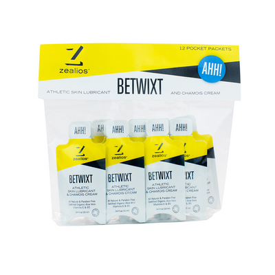 Zealios Betwixt all-natural anti-chafing pocket packets 12 pack