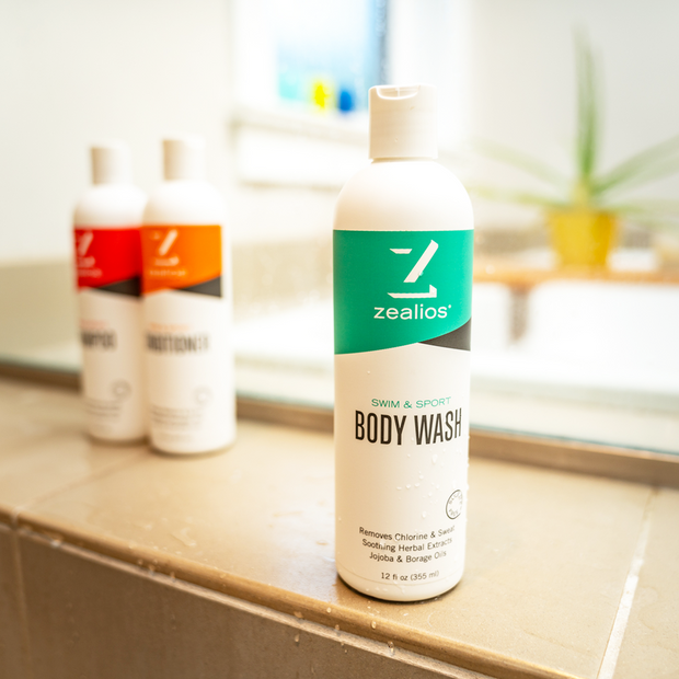 Zealios Swim & Sport Body Wash is sulfate-free and gentle enough for daily use
