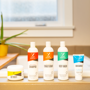 Zealios full product line - Sun Barrier, Shampoo, Conditioner, Body Wash and Betwixt anti-chafing