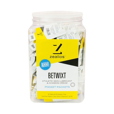 Zealios Betwixt all-natural anti-chafing cream 100 pocket packets