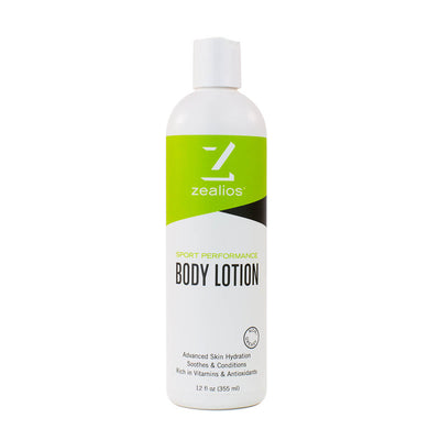 Zealios Body Lotion with hyaluronic acid and vitamin E