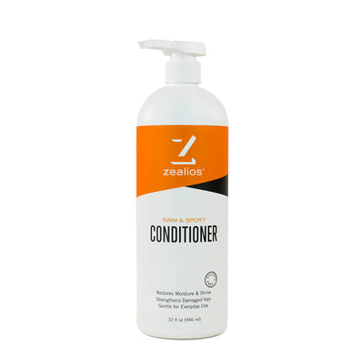 Zealios Swim & Sport Conditioner 32 oz with convenient pump