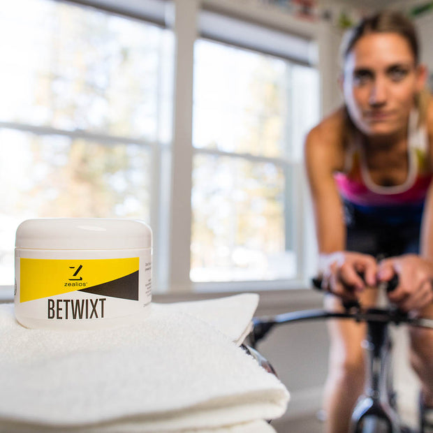 Zealios Betwixt all-natural anti-chafing cream for cyclists