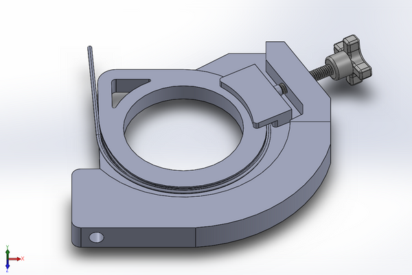 Solidworks design for machining