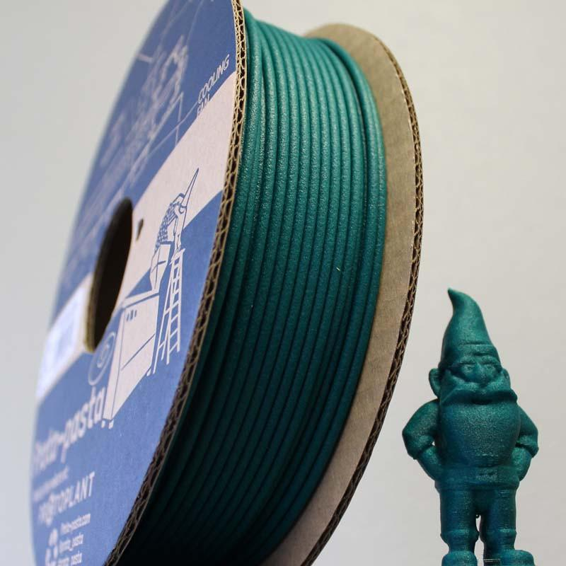 Matte Fiber HTPLA - Green Filament Spool